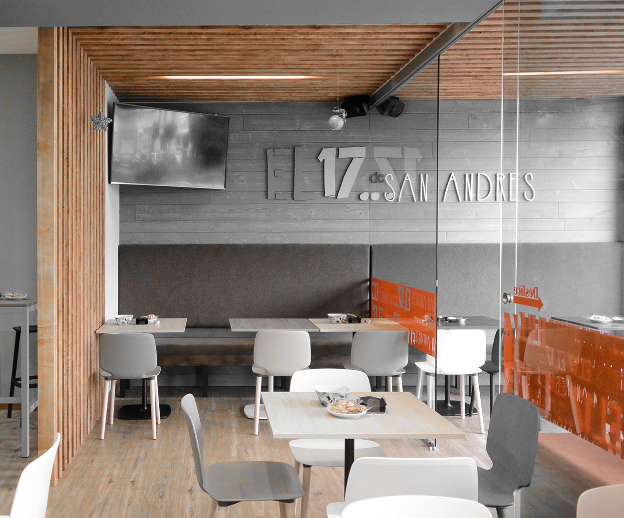 dise o interiores caf bar el 17 de san andr s On diseno de interiores 17